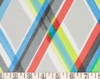 BTY - Robert Kaufman ColorFull Plaid Multi - 1 yard BTY