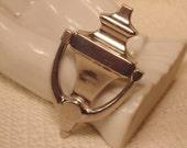 Vintage Coro Brooch-Coro jewelry-Vintage Jewelry-Vintage Brooch-Silver Jewelry-Silver Brooch-Silver Coro Jewelry-Coro Brooch-Roadsidebridge