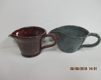 Stoneware Gravy or Sauce Boat