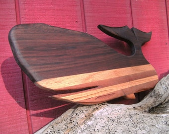 "Whale Custom Cutting Board ""The One That Got Away"""