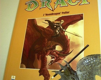 Czech DragonArt How to Draw Fantastic Dragons & Fantasy Creatures J Neon Dragon Peffer Art Book