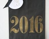 2017 New Years Favor Bag - NYE Treat Bag - New Years Candy Bag - New Years Party - New Years Party Decor