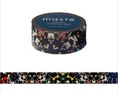 Mark's Japanese Washi Masking Tape - Japan Series / Kaleidoscope 15mm wide for packaging, party deco, crafting