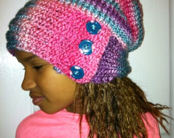 Multi-colors Hat for Kids or Adults