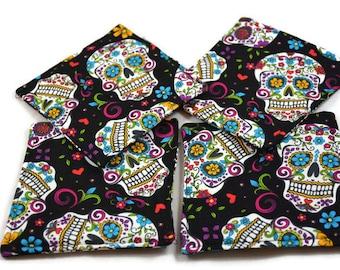 Dia De Los Muertos Coasters