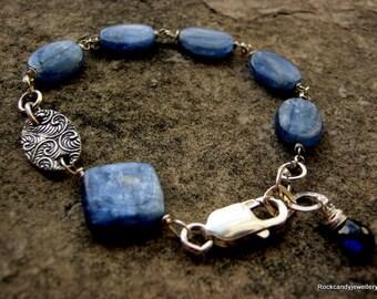 Deep Sea........Kyanite Gemstone Bracelet