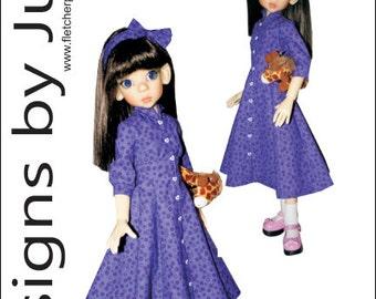 PDF Shining Hour Pattern for 46cm MSD Kaye Wiggs Dolls