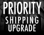 PRIORITY MAIL shipping upgrade - For U.S. orders only!