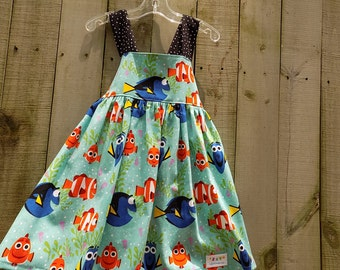 Find The Fish Fun Dress size 3T