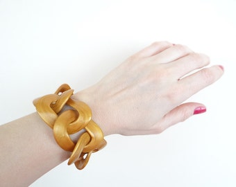 Chunky Chain Bracelet, ANY Color