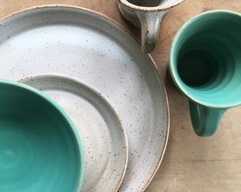 Wedding registry for Lindsay and Jed -dinnerware set of 4 pieces