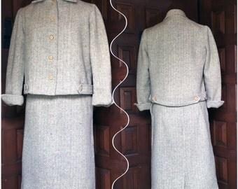 1950s Ladies Tweed Suit