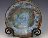 Porcelain Bowl Hand Carved and Hand Glazed in Multilayered Blue Jasper by Diann Adams on Etsy