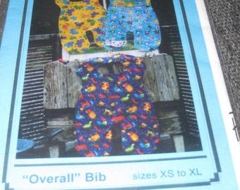 Overall Bib Sewing Pattern