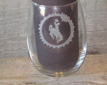 Great Wyoming Eclipse 2017 - Etched glass, sample