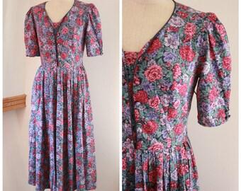 Laura Ashley Floral Summer Dress