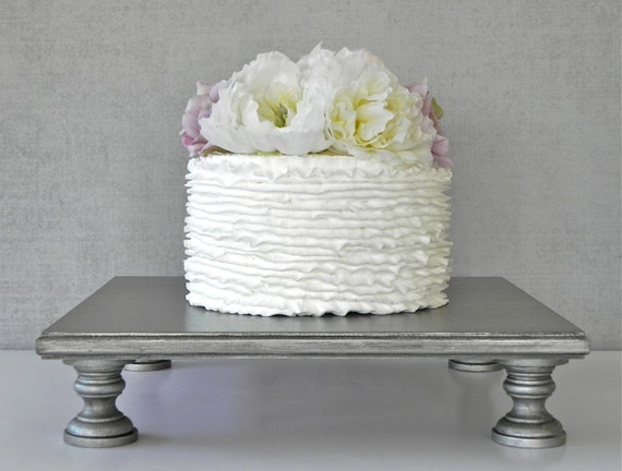 16 silver cake stand