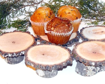 10 Rustic cupcake stands , Woodland Graduation decoration, Wood mini Cupcake Stands, Wedding, Baby shower, birthday party, bridal shower