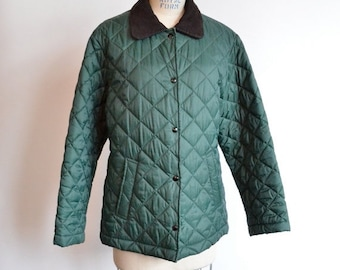 50% OFF SALE / Vintage BENETTON quilted light-weight jacket