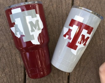 College Powder Coated YETI Custom You Pick the Color