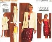 ON SALE Vogue Separates Pattern V2909 - Misses' Jacket, Top, Dress, Skirt and Pants - Vogue Wardrobe Series - Sz 6/8/10