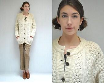 Fisherman Sweater  //  Irish Knit Cardigan  //  THE BLARNEY
