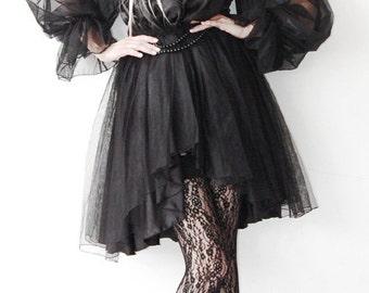 Satin princess dress