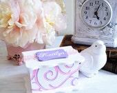 Flower Girl Gift , Junior Bridesmaid Jewelry Box