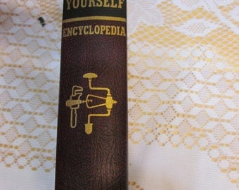 Audel Do It Yourself Encyclopedia Volume Illustrated A-Furniture