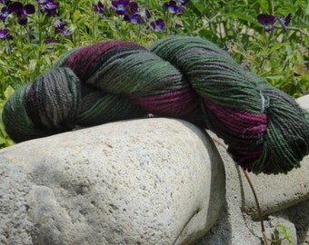 Handspun - worsted weight yarn