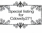 Special Listing for CDOWY271