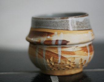 You rule - stoneware tea bowl - chawan