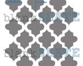 Custom Moroccan Tile Stencil