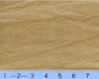 Marcus Aged Muslin - Full or Half Yard Hand Dyed Latte Distressed Parchment Look Blender - Y141-138D