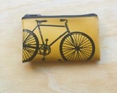The Best Bike Change Purse in Goldenrod Yellow
