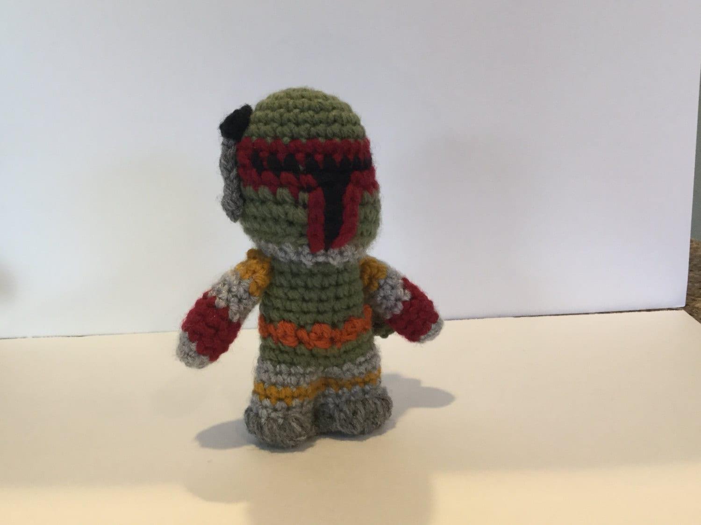Amigurumi Free Pattern Dinosaur : Boba Fett Star Wars amigurumi
