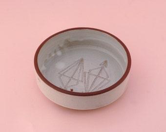 Carved Arrow Dish