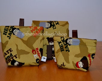 READY TO SHIP Duck Dynasty  Reusable Lunch Kit