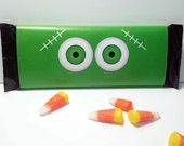 Frankenstein Eye Halloween Candy Bar Wrapper ~ Printable ~ Can be personalized