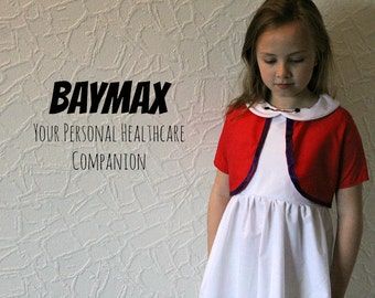 Baymax (Big Hero 6) - Disney Inspired Dress and Jacket (outfit)