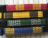 Hogwarts House Scarf Cat Collars