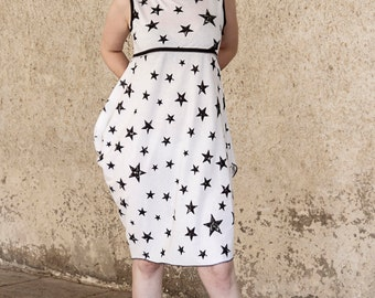 Asymmetrical Star Tunic/Dress