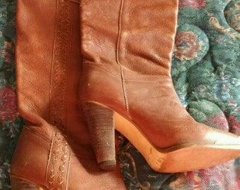 Vintage zodiac ladies boots 6.5