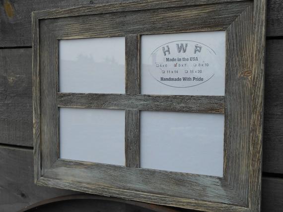 Rustic Barn Board Window Frame Handmade Handcrafted Barn