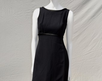 Vintage 60's dress sexy evening LBD classic party cocktail MOD dress sM by thekaliman