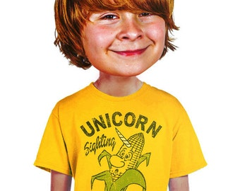 real unicorn sighting t-shirt funny boys corny vegetarian pun t-shirt for foodie nerds geek hip cool edgy humor farm fresh quirky tee lovers