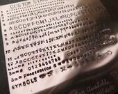 Fonts for Custom Engraving