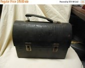 Independence Day Sale Vintage Metal lunch box without thermos, collectabe lunch kit,