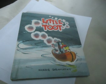 Vintage 1939 Little Toot Childrens Hardback Book by Hardie Gramatky, collectable