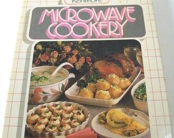 Vintage 1984 Sears Kenmore Microwave Cookery Cookbook~176 pages